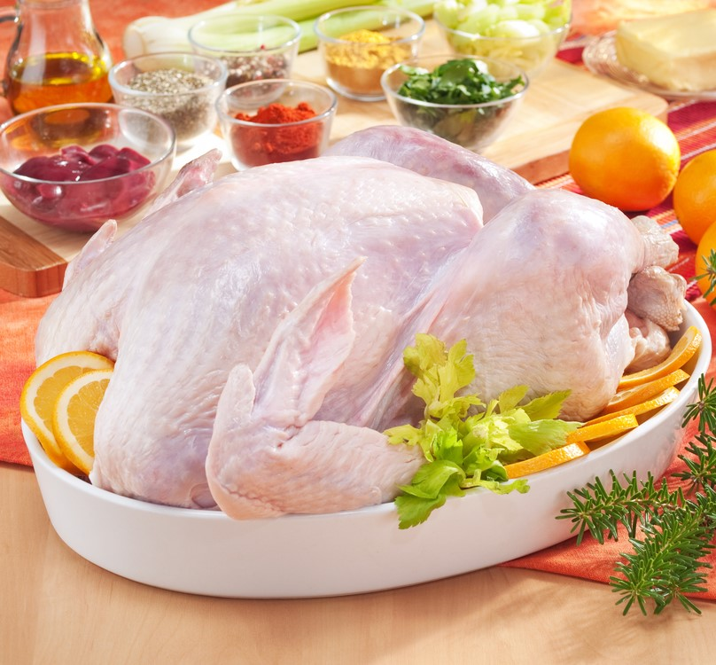 Frozen Whole Turkey per KG